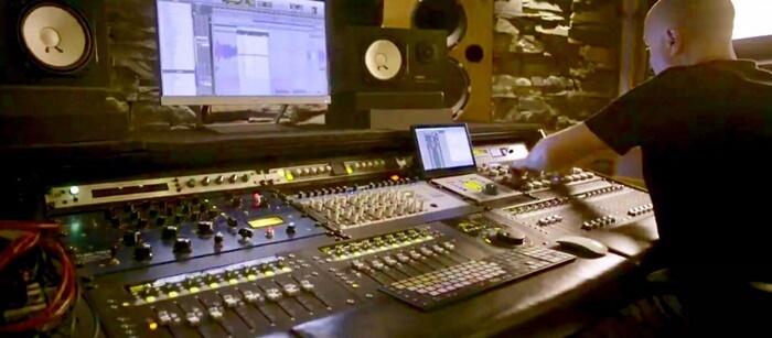 Grabacion y mezcla musical